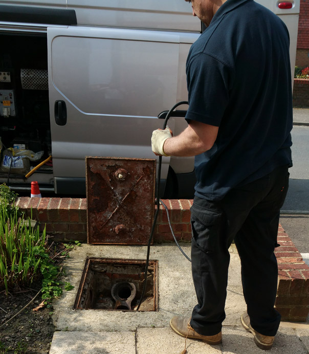 Exterior Drain Cleaning